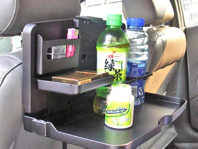 Πτυσσόμενο τραπεζάκι φαγητού και ποτηροθήκη καθίσματος αυτοκίνητου