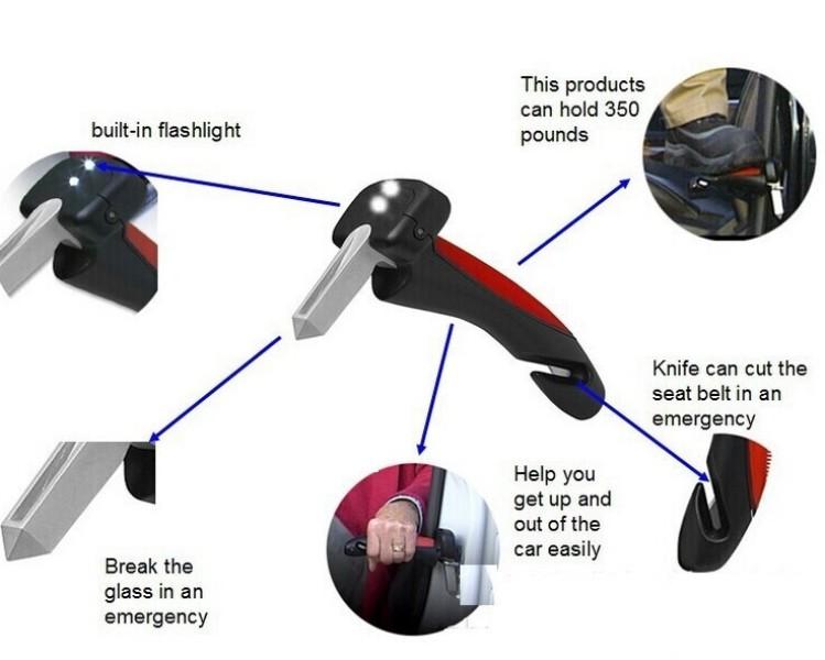 Πολυεργαλείο ανάγκης - βοηθητική λαβή Car Handle