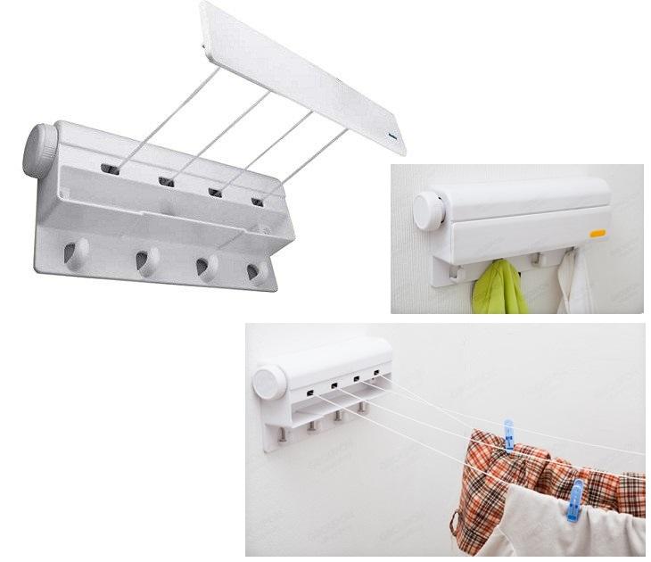 Απλώστρα Αυτόματης Επιστροφής - Automatic Washing Line With Hook