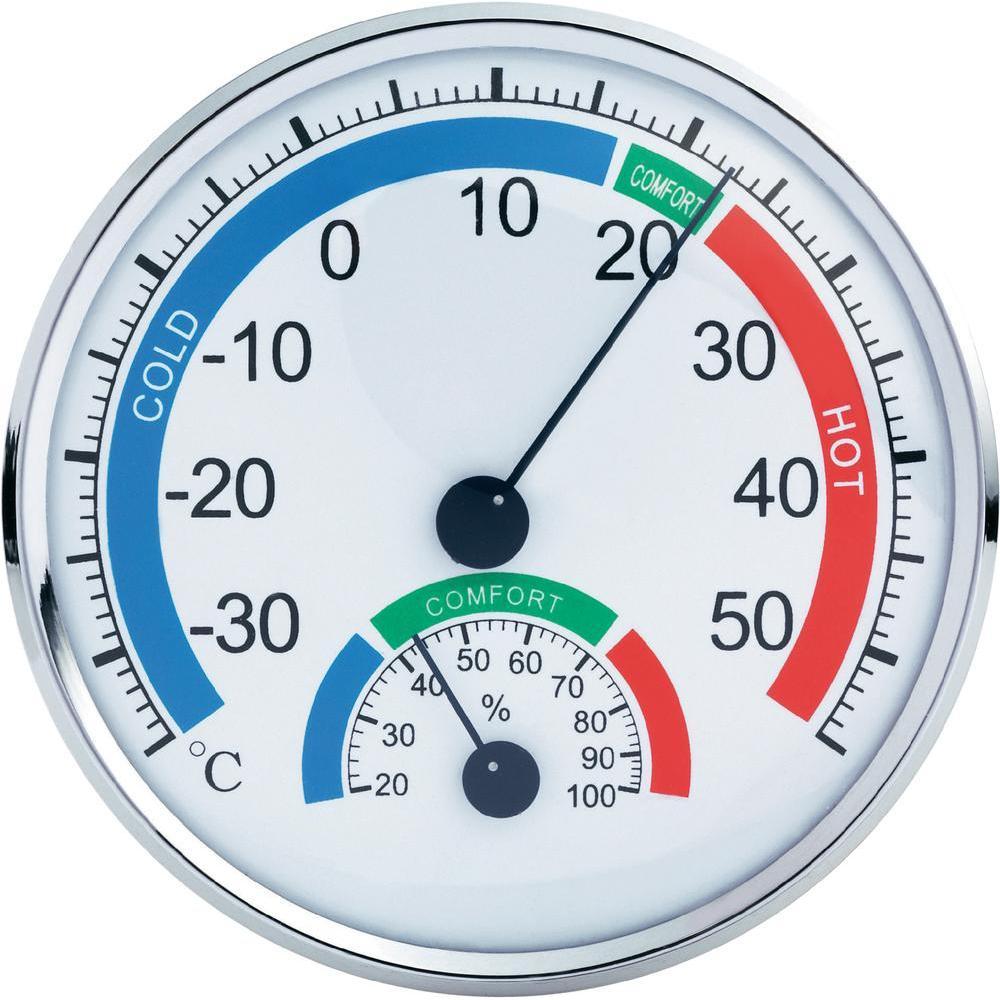 Μεγάλο Υγρόμετρο & Θερμόμετρο Ακριβείας Anymeters