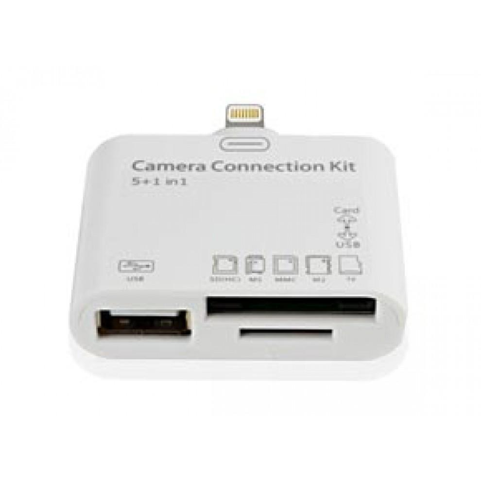 Camera Connection Kit 5 σε 1+1 για Συσκευές Apple