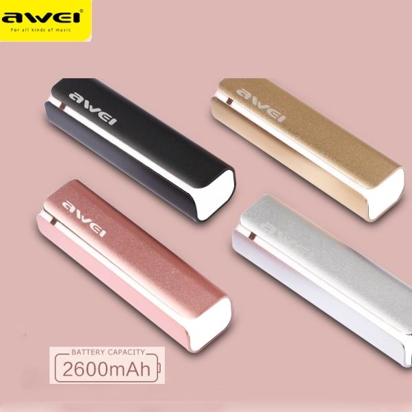 Power Bank - Φορτιστής συσκευών AWEI 2600mAh