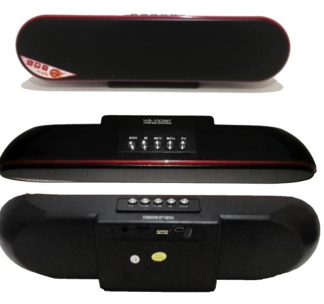 Ασύρματο ηχείο Bluetooth με εξαιρετική ποιότητα ήχου και ισχυρά μπάσα WS-1003ΒΤ
