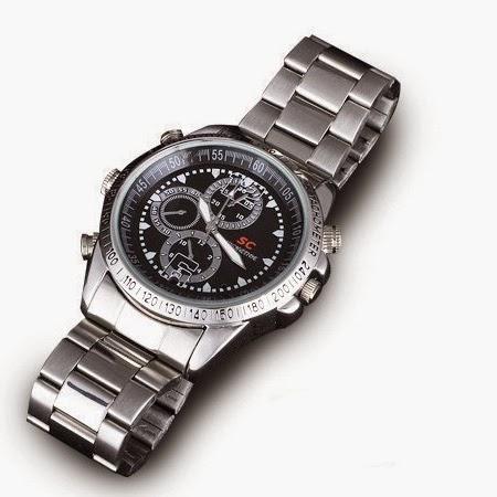 Πολυτελές Ρολόι Με Ενσωματωμένη Camera Και Αποθηκευτικό Χώρο 8GB
