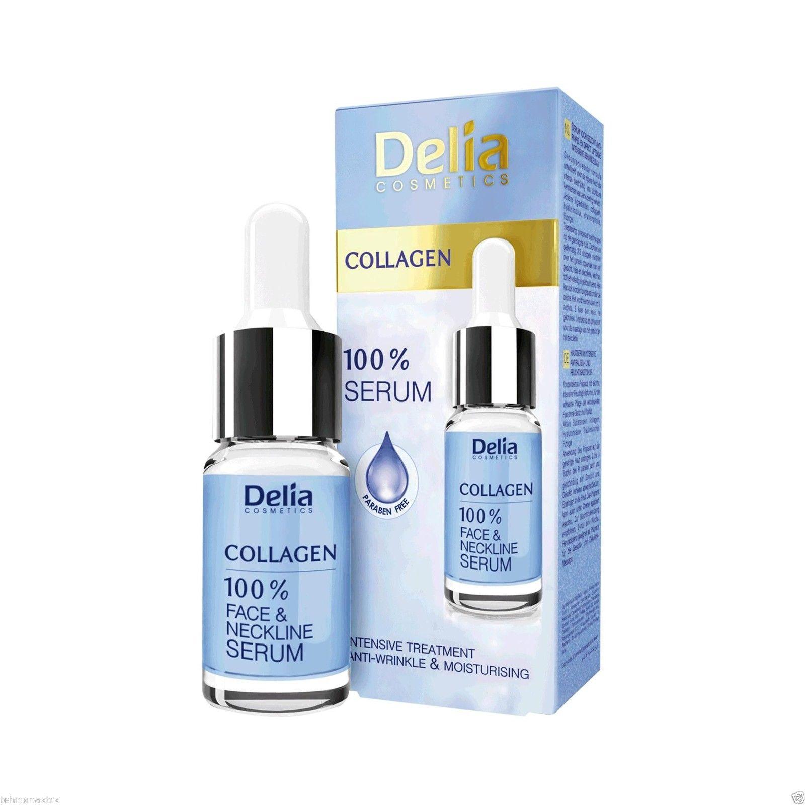 Ορός Προσώπου Με Κολλαγόνο Χωρίς Parabens 10ml - Delia Cosmetics
