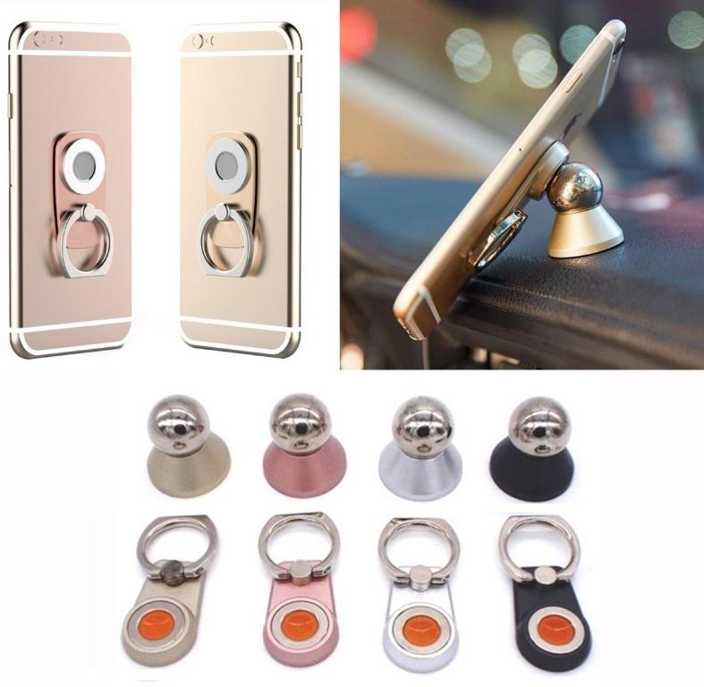 Βάση στήριξης κινητού-δαχτυλίδι με μαγνήτη και βάση στήριξης κινητών με μπίλια