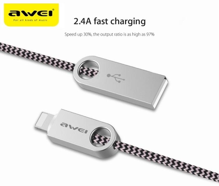 Καλώδιο γρήγορης φόρτισης & συγχρονισμού AWEI CL-20