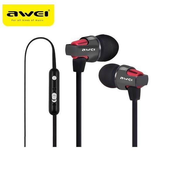 Υψηλής ποιότητας ακουστικά ψείρες με μικρόφωνο - AWEI ES-860hi