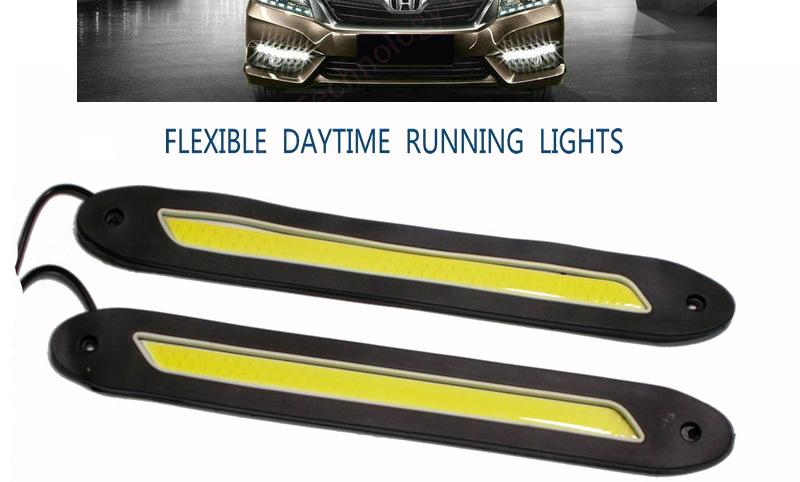 Εύκαμπτα λεπτά φώτα ημέρας αυτοκινήτου COD LED, γραμμη, σετ 2 τεμάχια