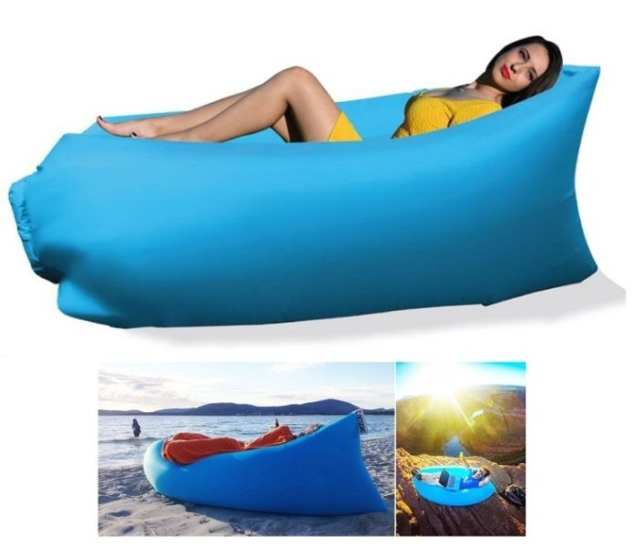 Φουσκωτός Καναπές - Ξαπλώστρα 675gr Lazy Bag - Inflatable Air Sofa ΟΕΜ