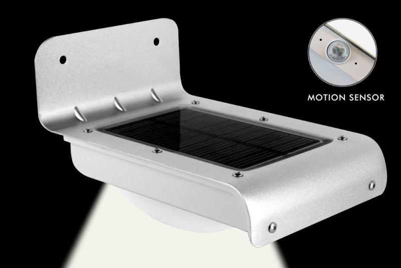 Ηλιακό φωτιστικό εξωτερικού χώρου με αισθητήρα κίνησης