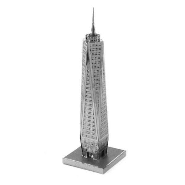 """Μίνι τρισδιάστατο μεταλλικό πάζλ """"World Trade Center"""""""