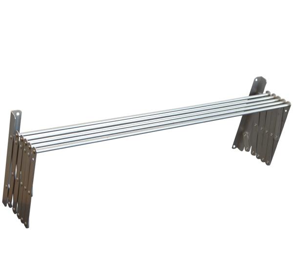 Πτυσσόμενη απλώστρα ρούχων αλουμινίου 120cm
