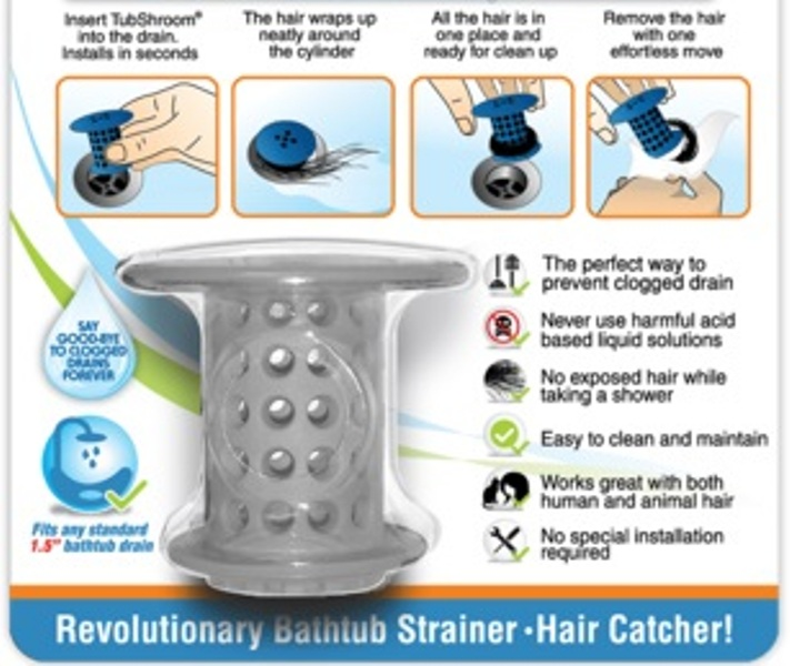 Τριχοπαγίδα Magic Shower Hair Catcher