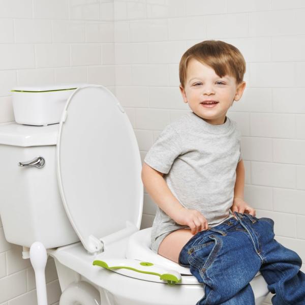 Φορητή παιδική τουαλέτα & κάθισμα 2 σε 1