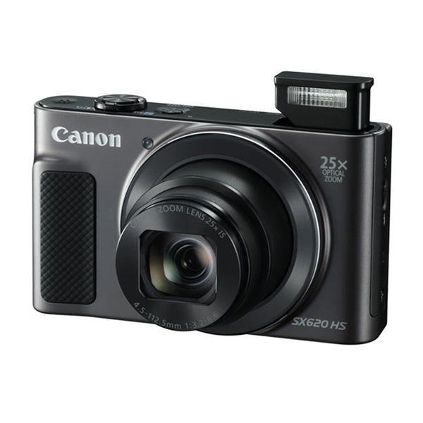Canon Powershot SX620 HS Black Πληρωμή έως 12 δόσεις