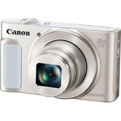 Canon Powershot SX620 HS White Πληρωμή έως 12 δόσεις