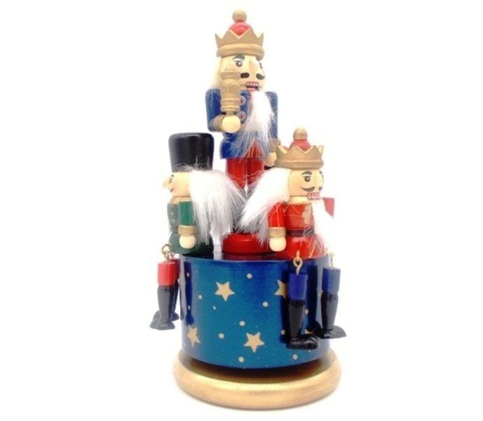 """Ξύλινο χριστουγεννιάτικο καρουζέλ """"στρατιωτάκια"""""""
