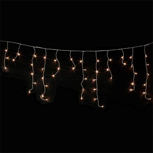 Χριστουγεννιάτικη μικρή ασύμμετρη led κουρτίνα 2m