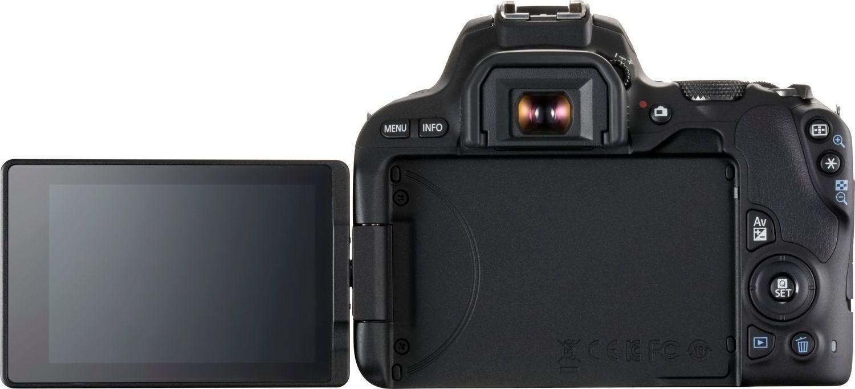 Canon EOS 200D Kit 18-55 IS STM Black Πληρωμή έως 12 δόσεις