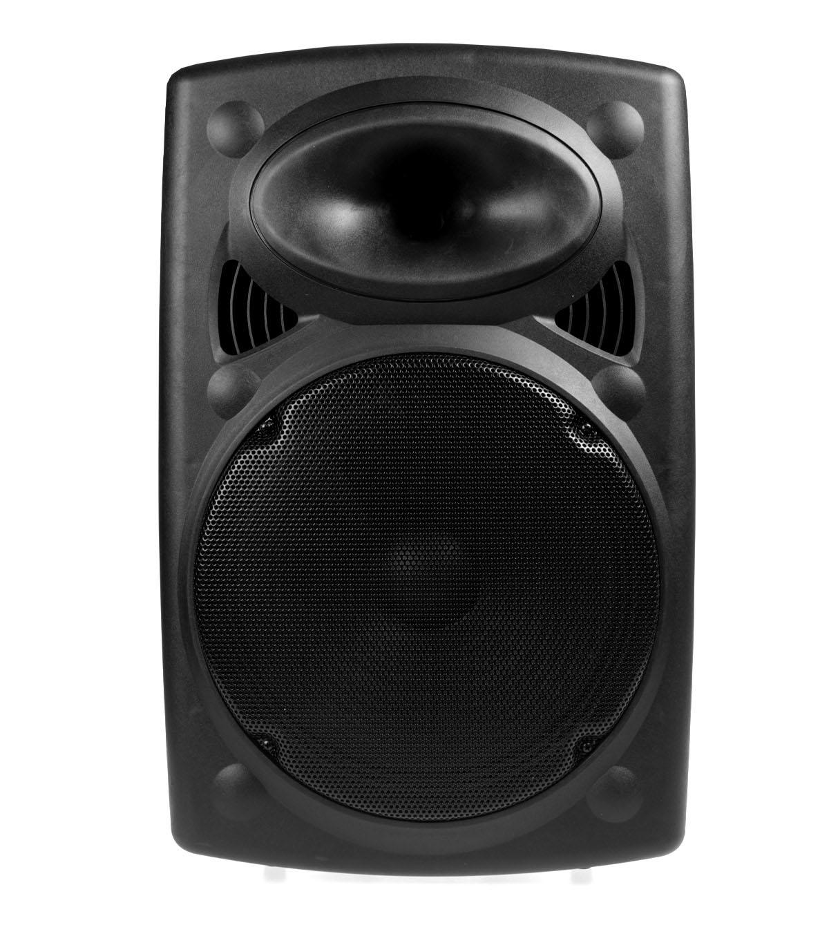 """Αυτο-Ενισχυόμενο Ηχείο 15"""" Με FM, Bluetooth, Είσοδο SD/USB/AUX, Ασύρματο Μικρόφωνο Και Είσοδο Κιθάρας - W-15 (Πληρωμή έως 12 δόσεις)"""