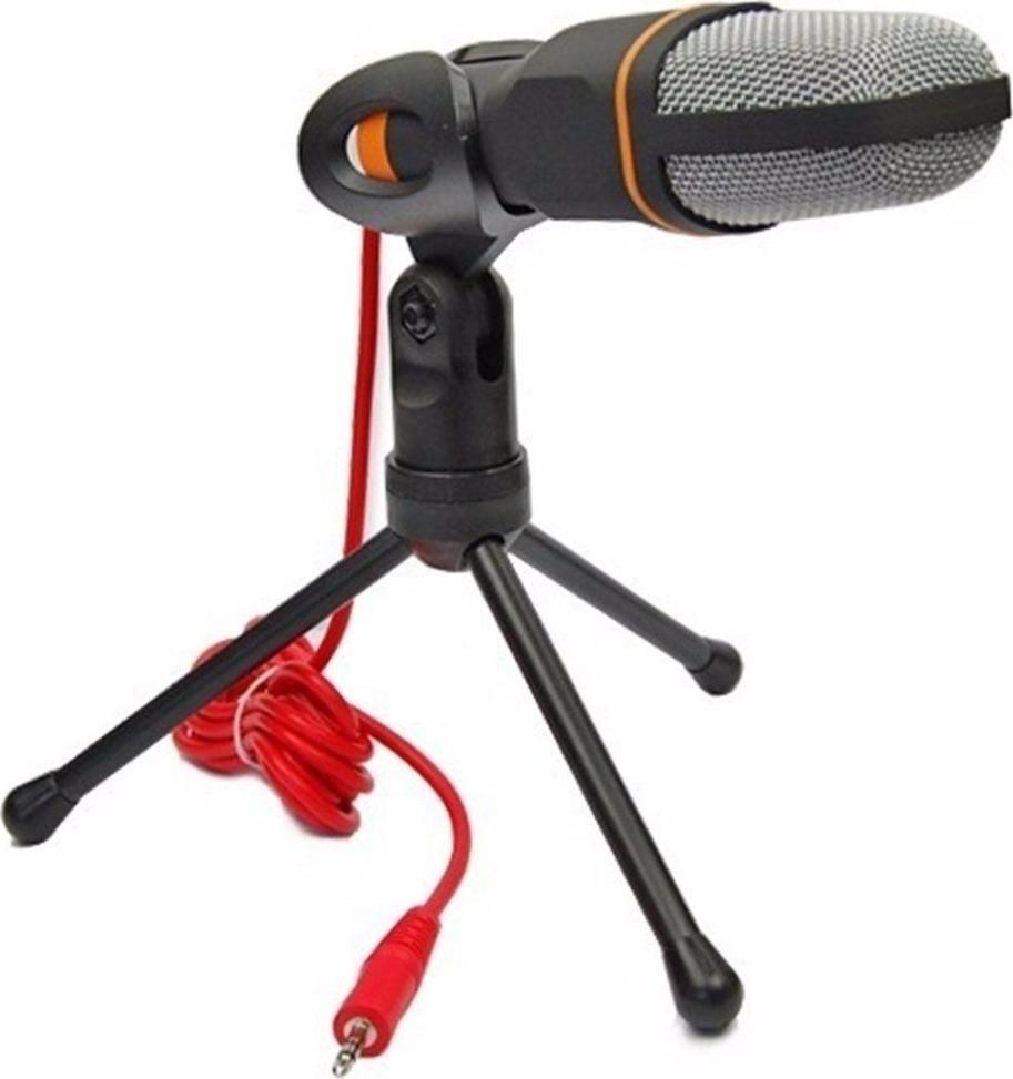 Πυκνωτικό Μικρόφωνο Με 3.5mm Jack - Μαύρο