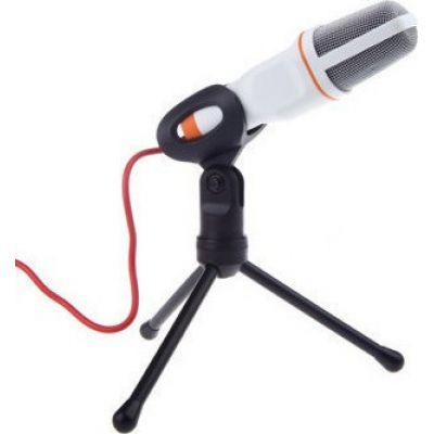 Πυκνωτικό Μικρόφωνο Με 3.5mm Jack - Λευκό