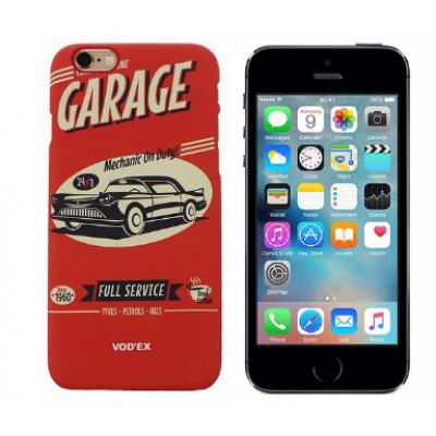 Backcase Ανάγλυφη Θήκη Vod'Ex Για iPhone 5/5S - Mechanic On Duty