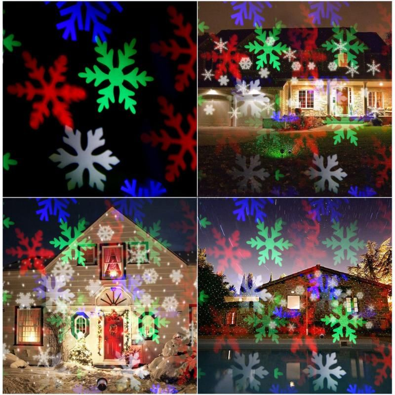 Χριστουγεννιάτικο φωτιστικό laser projector εξωτερικού χώρου - Χριστουγεννιάτικο σχέδιο