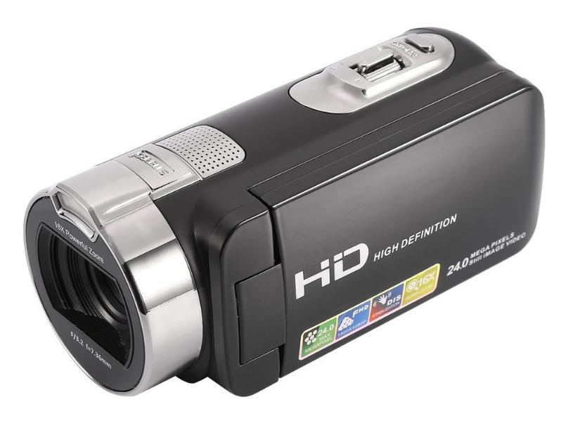 """Ψηφιακή Βιντεοκάμερα Full HD 1920x1080p 24MP Και Περιστρεφόμενη 270ο Οθόνη LCD 3"""""""