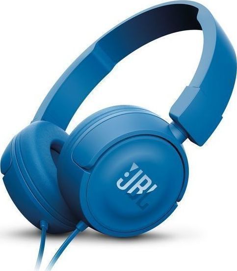 JBL T450 On-Ear Headphones Blue