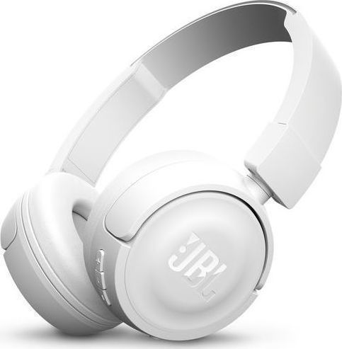 JBL T450BT On-Ear Bluetooth Headphones White