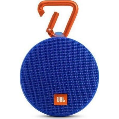 JBL Clip 2 Waterproof Bluetooth Ηχείο Blue