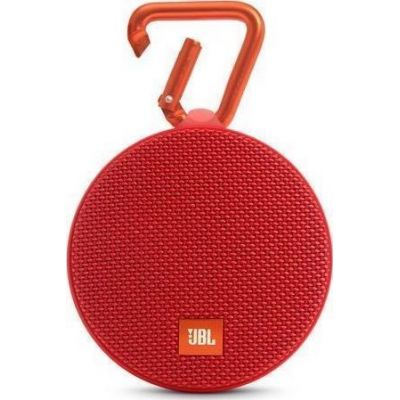 JBL Clip 2 Waterproof Bluetooth Ηχείο Red