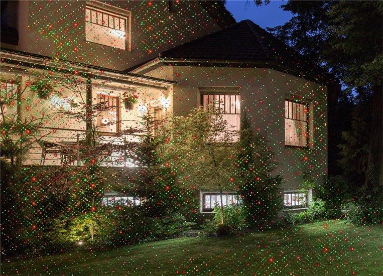 Νυχτερινός Διακοσμητικός Φωτισμός Με Τηλεχειριστήριο - Laser Light RC