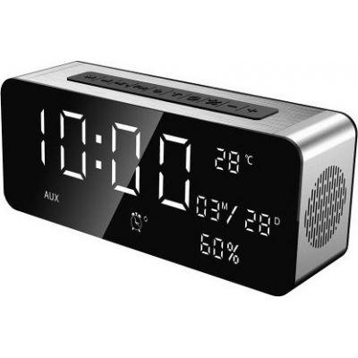 Φορητό Bluetooth Ηχείο 4.1 12W Με Ρολόι, Ραδιόφωνο Και Είσοδο USB/SD/AUX - Sardine A10