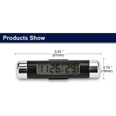 Ψηφιακό Ρολόι - Θερμόμετρο CT-20 Για Τον Αεραγωγό Του Αυτοκινήτου