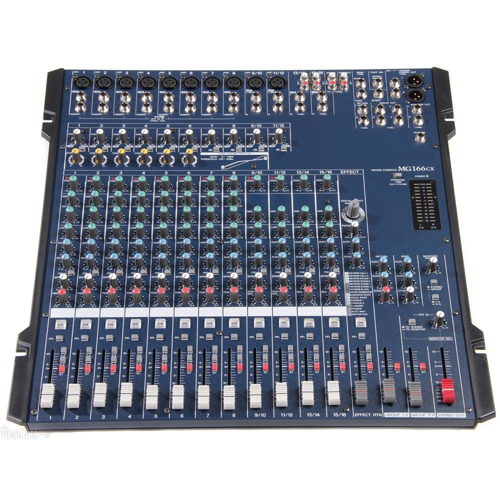 Μικροφωνικός Μίκτης MG166CX 16 Καναλιών Με USB