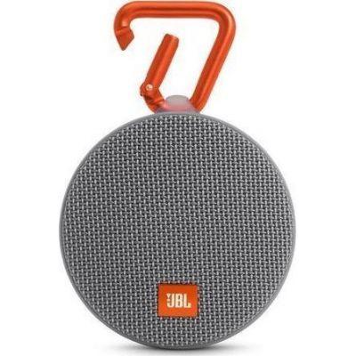 JBL Clip 2 Waterproof Bluetooth Ηχείο Grey