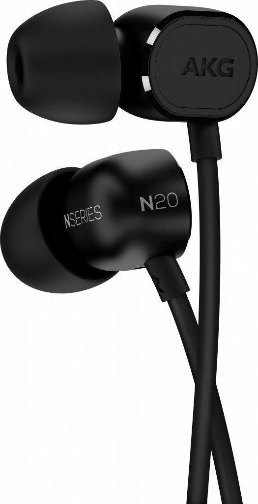 AKG N20U Δυναμικό Ακουστικό In-Ear Black