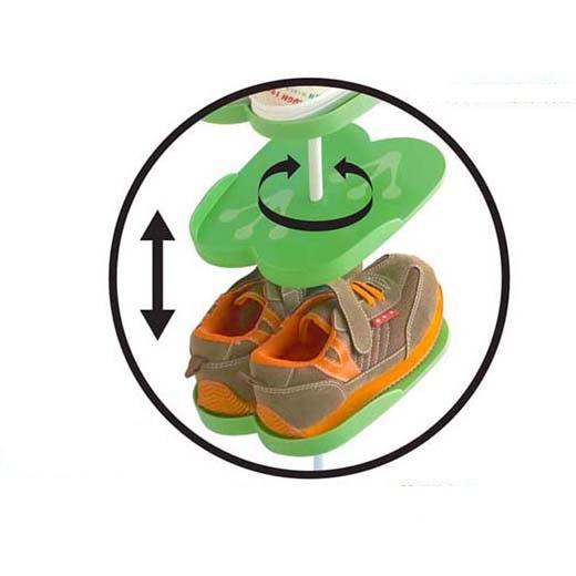 Παιδική επιδαπέδια παπουτσοθήκη βατραχάκι