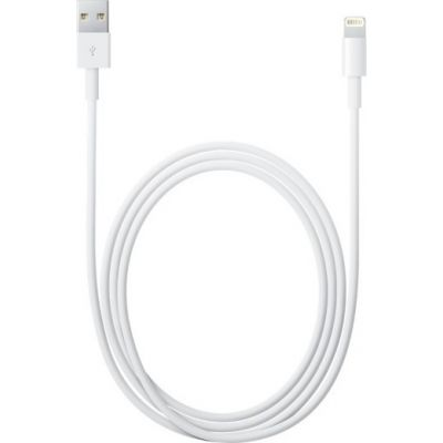 Καλώδιο Original Apple USB To Lighting MD819ZM/A 2.0m White Bulk