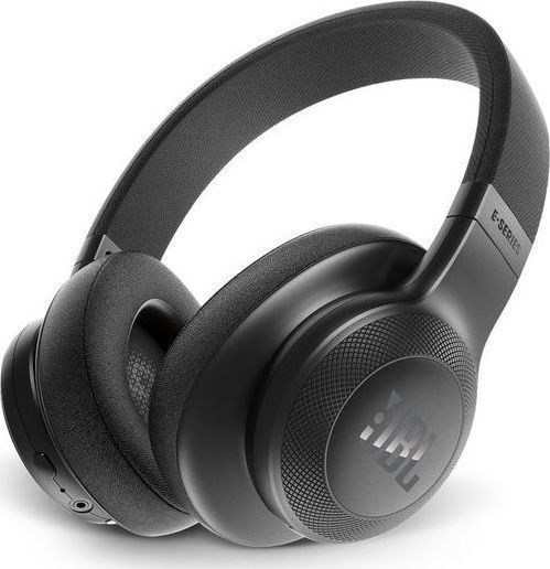 JBL E55BT On-Ear Bluetooth Headphones Black