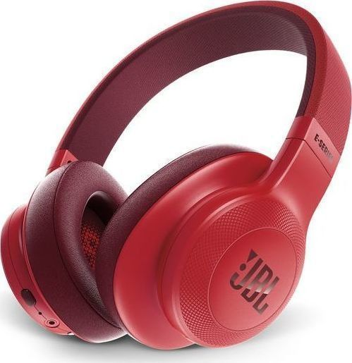 JBL E55BT On-Ear Bluetooth Headphones Red