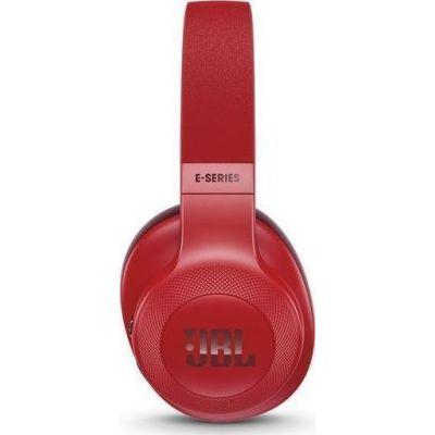 JBL E55BT On-Ear Bluetooth Headphones Red