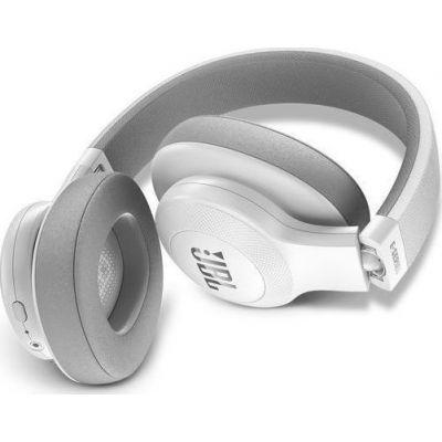 JBL E55BT On-Ear Bluetooth Headphones White