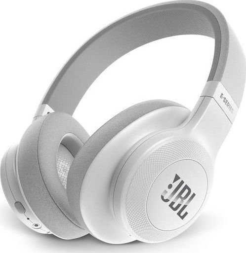 JBL E55BT On-Ear Bluetooth Headphones White