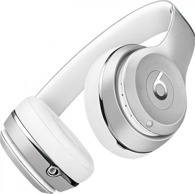 Beats Solo 3 Wireless Headphones Matte Silver
