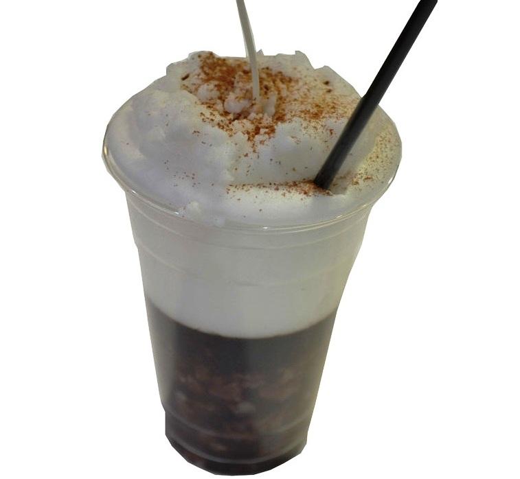 Χειροποίητη λαμπάδα Freddo cappuccino