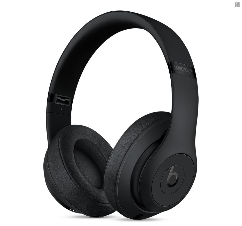 Beats Studio 3 Wireless Headphones Black